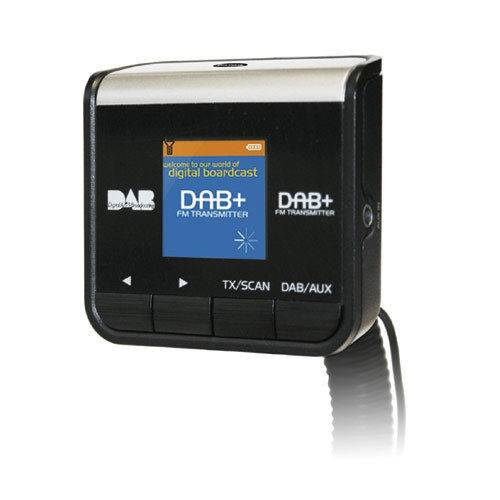 pama plug play car dab digital radio adapter with fm transmitter aux in out ebay. Black Bedroom Furniture Sets. Home Design Ideas