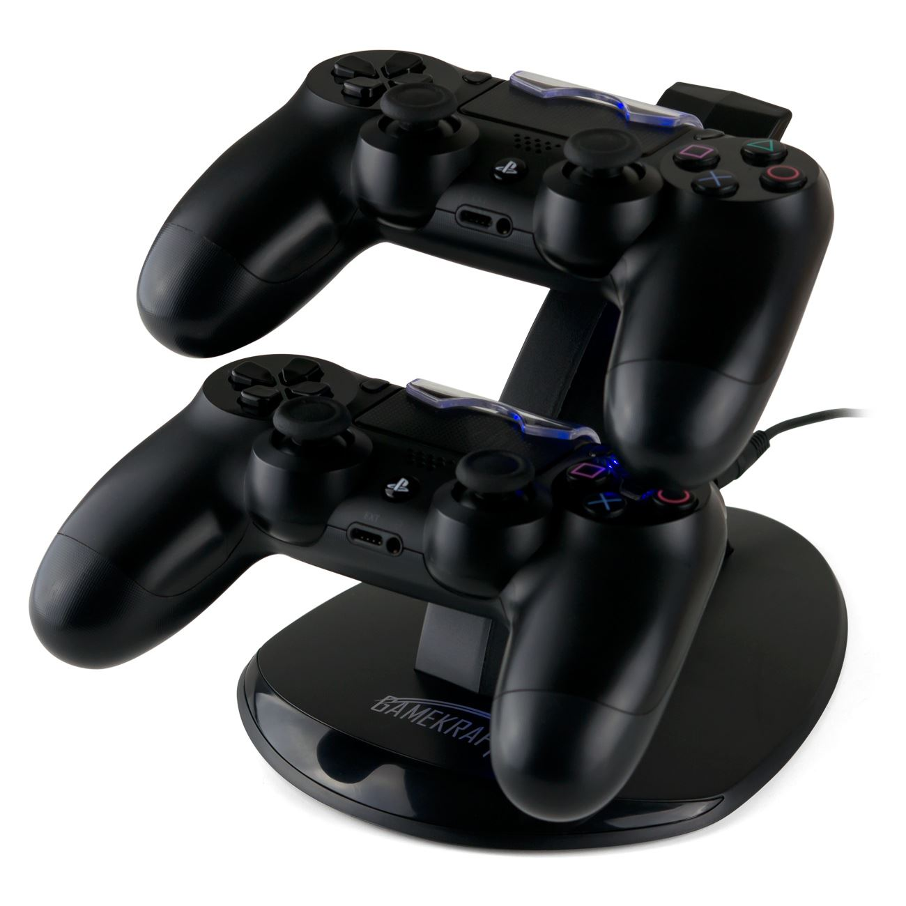 gamekraft dx2 charger charging dock stand pour manette ps4. Black Bedroom Furniture Sets. Home Design Ideas