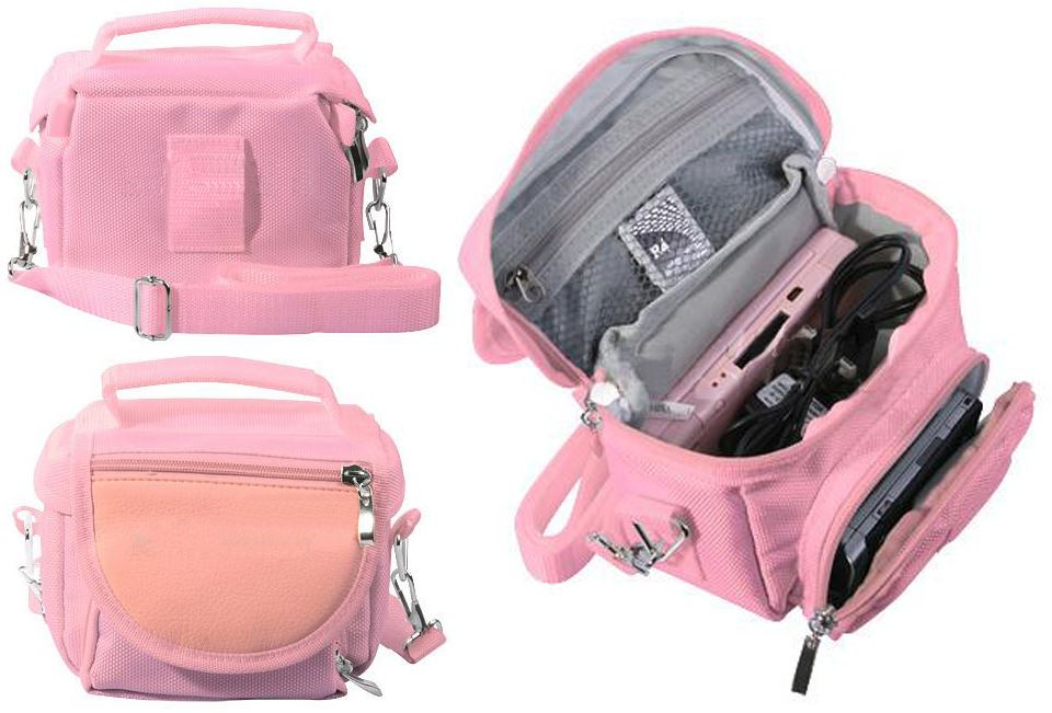 extra large travel bag carry case for nintendo ds lite dsi xl ebay. Black Bedroom Furniture Sets. Home Design Ideas