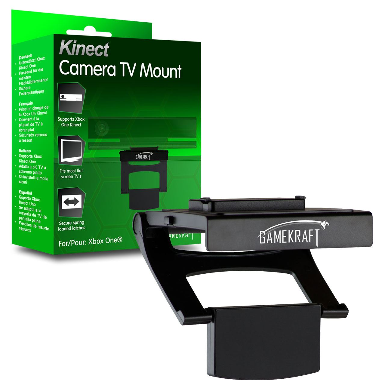 Gamekraft Xbox One Kinect 2 Camera Sensor TV Mount Stand