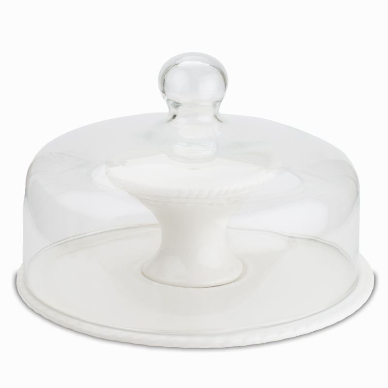 Inch Cake Stand With Dome