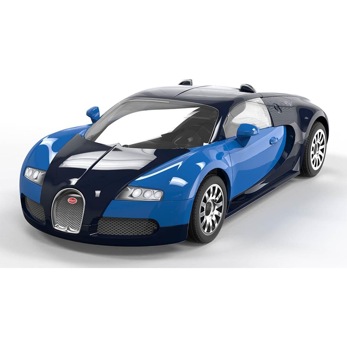 airfix quick build bugatti veyron model kit car construction kids gift toy cr. Black Bedroom Furniture Sets. Home Design Ideas