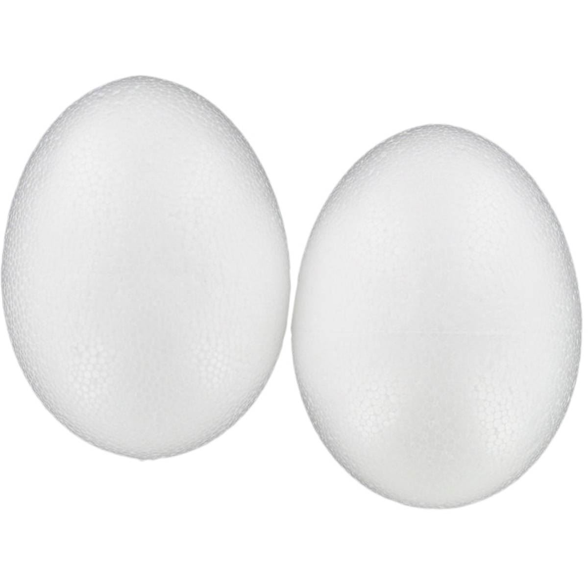 Hobby Craft Polystyrene Eggs