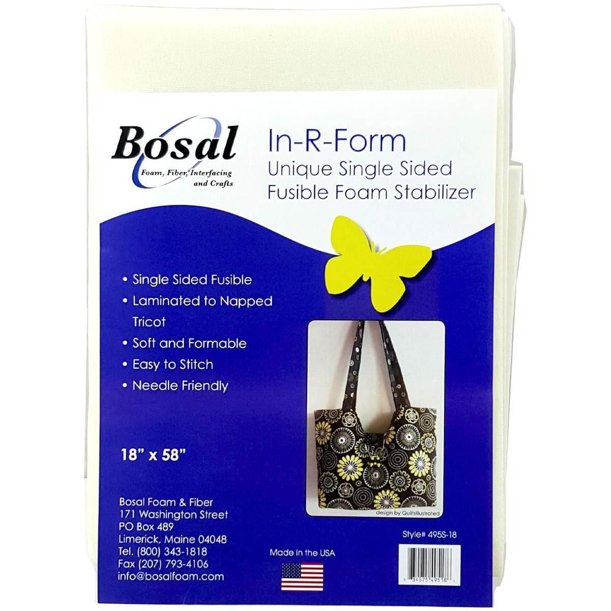 Bosal In R Form Single Sided Fusible Foam Stabilizer