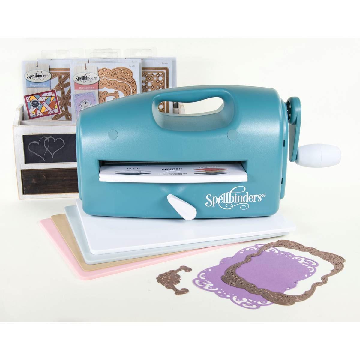 spellbinders new die cutting machine