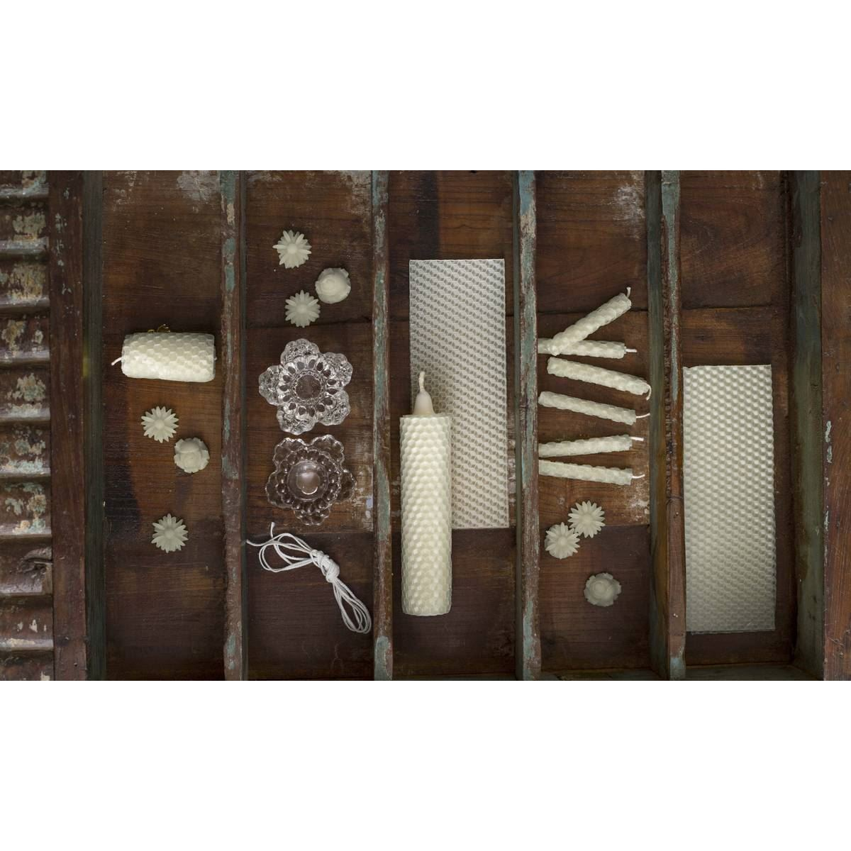Kirstie Allsopp Beeswax Candle Making Kit Set Basic Create