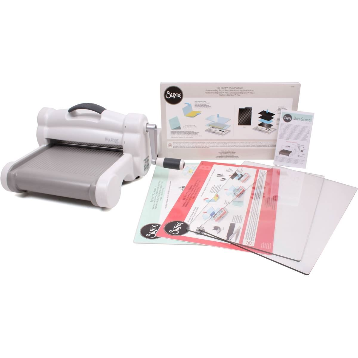 sizzix big shot plus a4 machine die cutting scrapbook