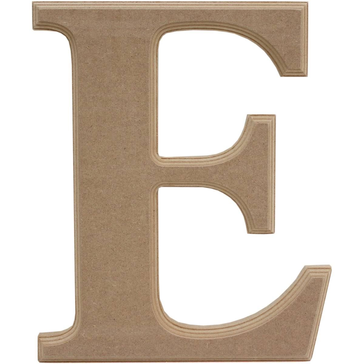 Hobbycraft Home Decoration Wooden MDF Letter Plaque Alphabet E 27 Cm . Full resolution‎  photograph, nominally Width 1200 Height 1200 pixels, photograph with #745238.