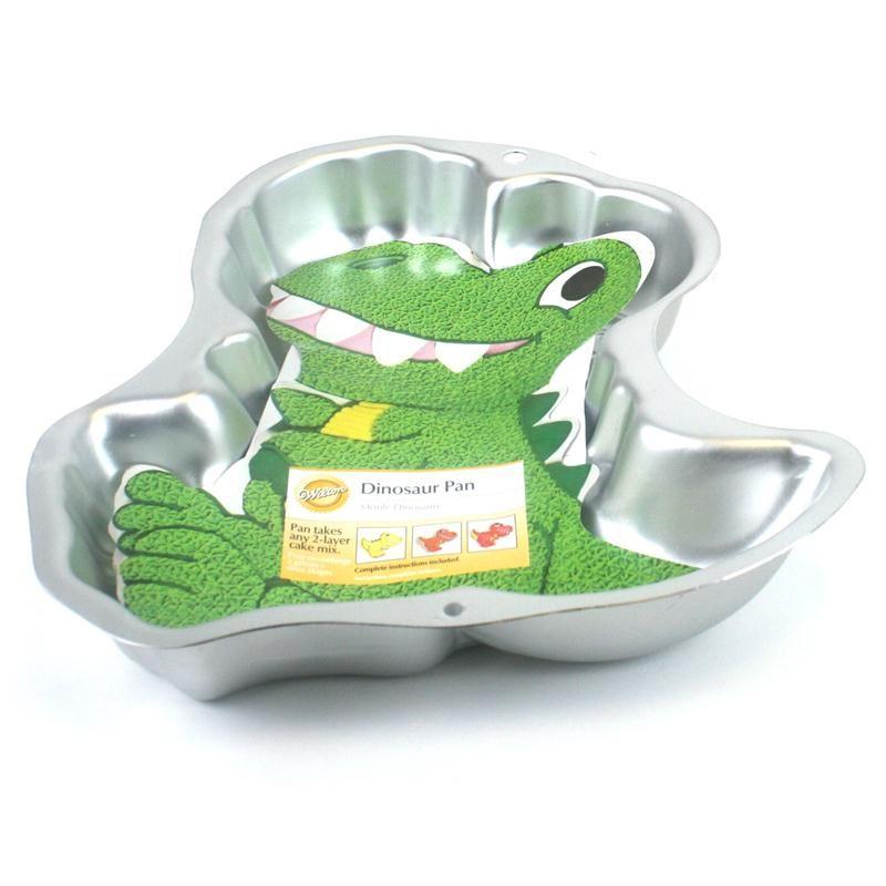 Dinosaur Birthday Cake Wilton: Wilton Dinosaur Cake Pan Baking Tin Mould Bakeware