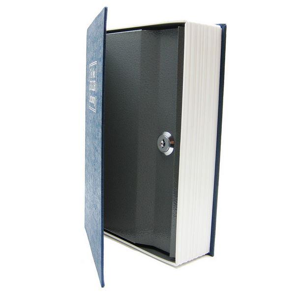 HomeSafe BookSafe Metal Security Safe Money Box Coin Slot Small Medium Large