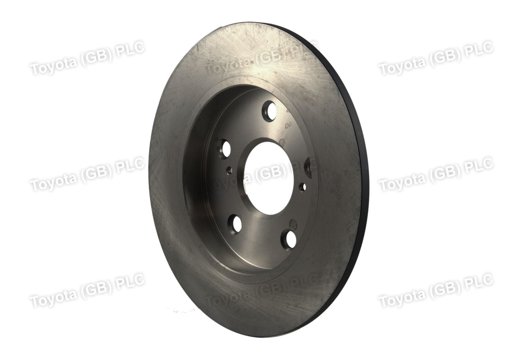 genuine toyota auris corolla car replacement brake disc rr 4243112260 ebay. Black Bedroom Furniture Sets. Home Design Ideas
