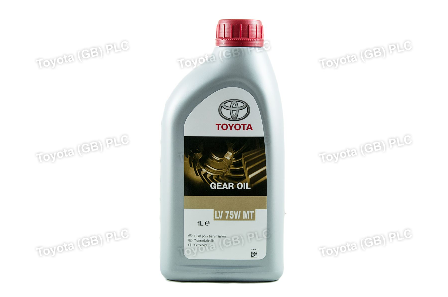 Genuine Toyota Manual Gear Box Transmission Oil LV 75W MT 1 Litre
