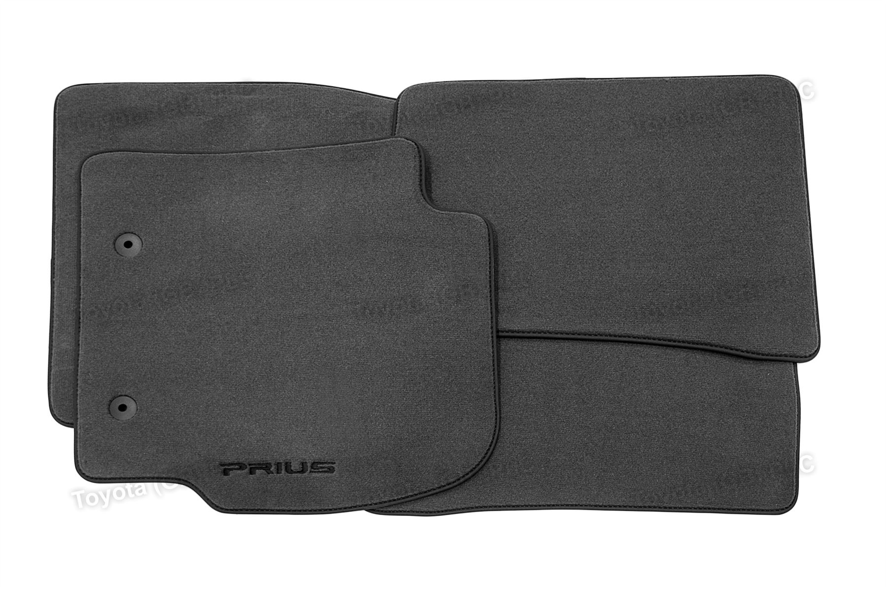 Genuine toyota luxury prius carpet floor car mats 05 09 for Original toyota floor mats
