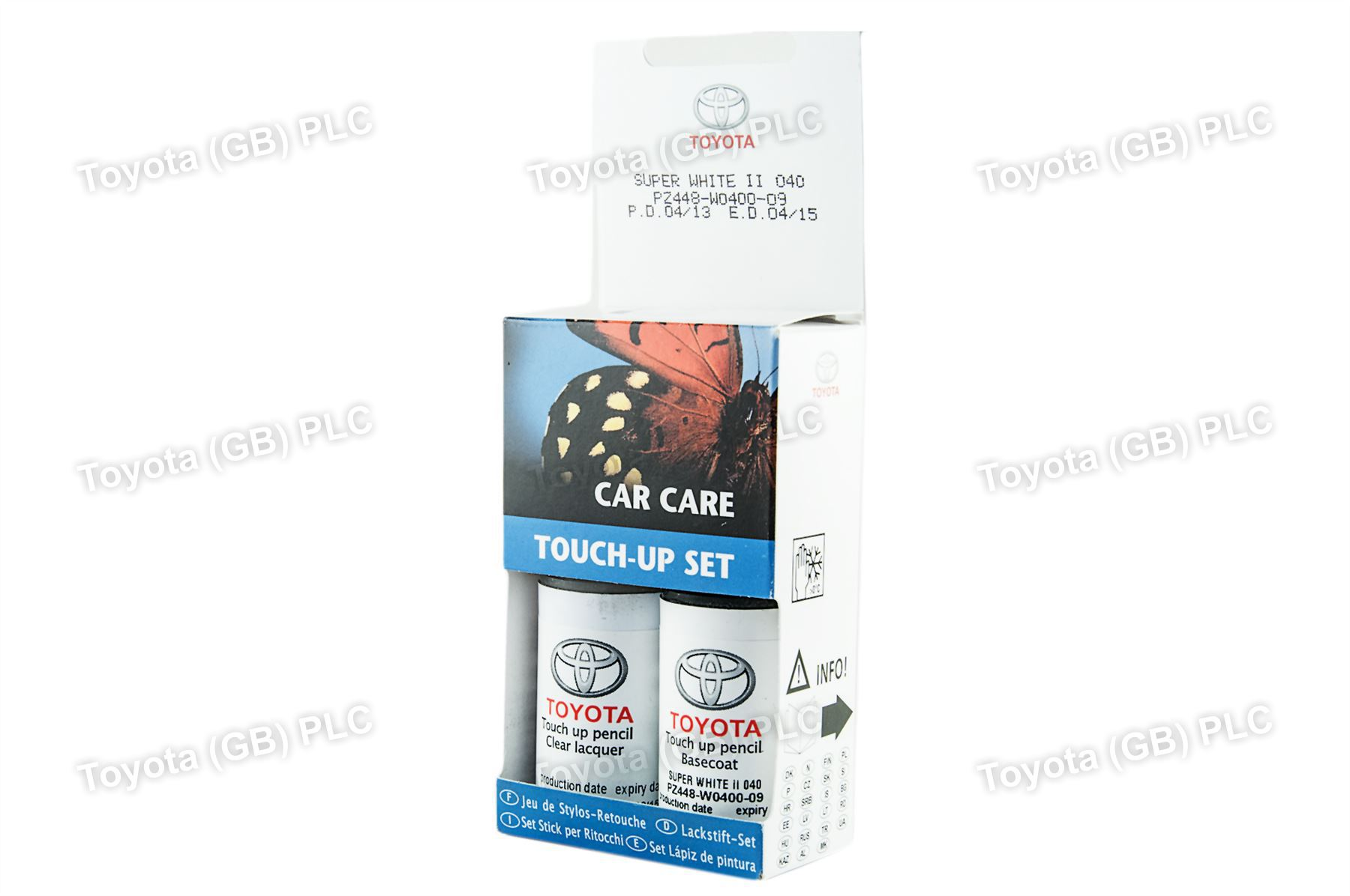 Genuine Toyota Touch Up Paint Uk