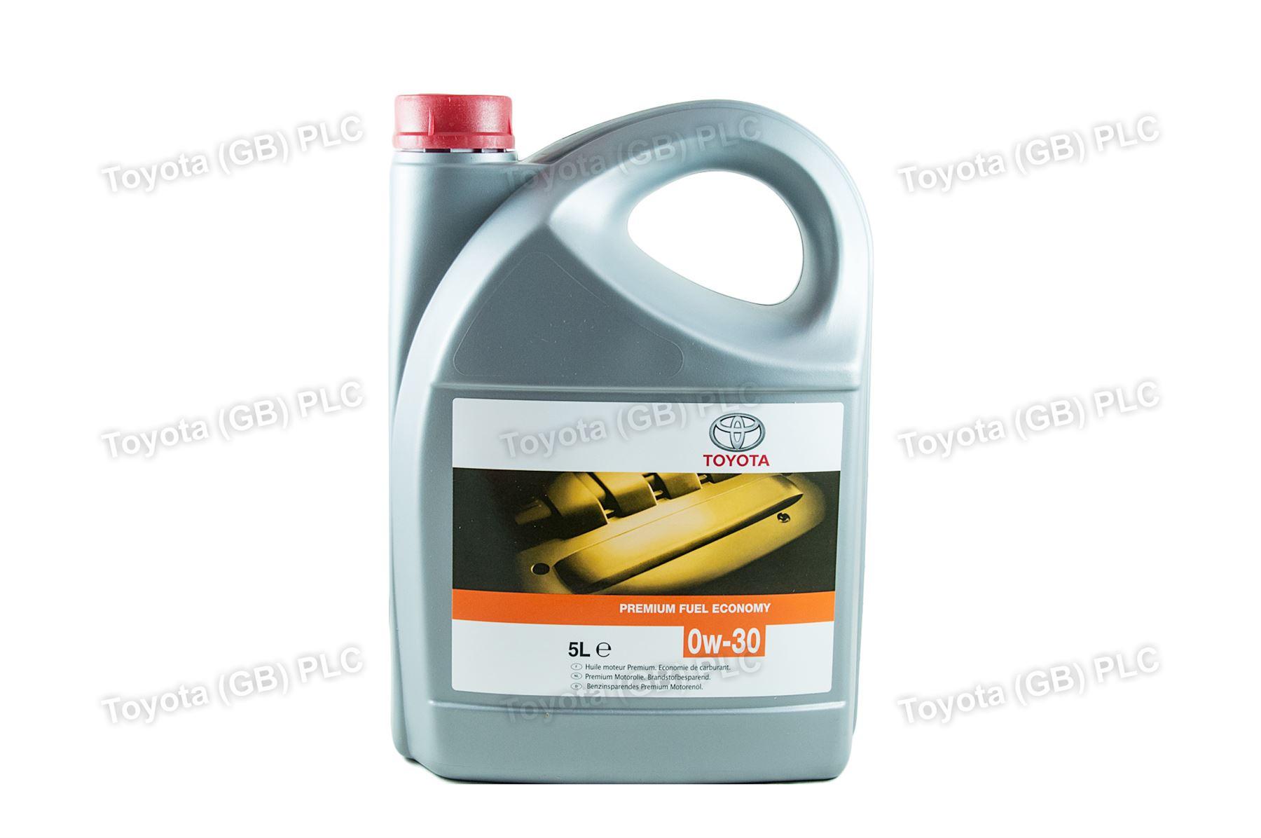 Genuine Toyota Engine Motor Oil 0w30 Pfe 5 Litres