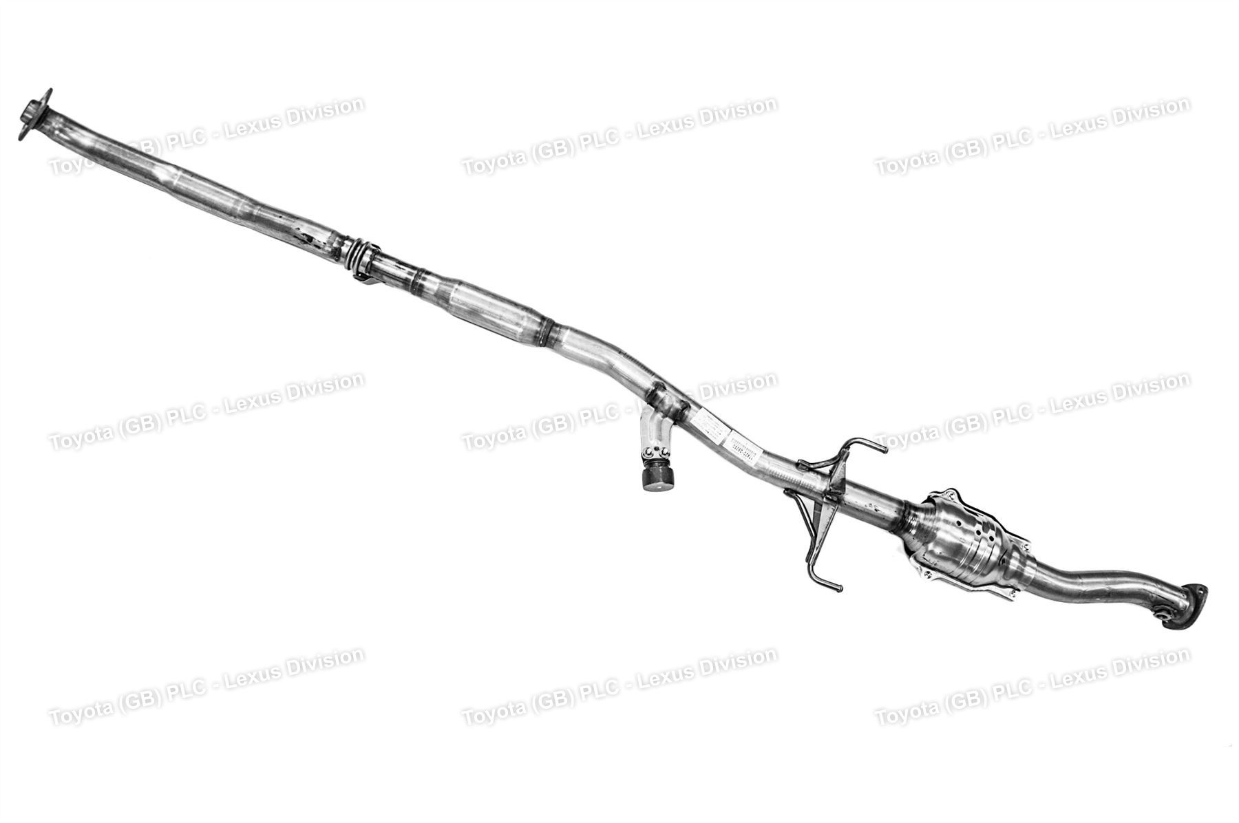 car toyota corolla exhaust system diagram