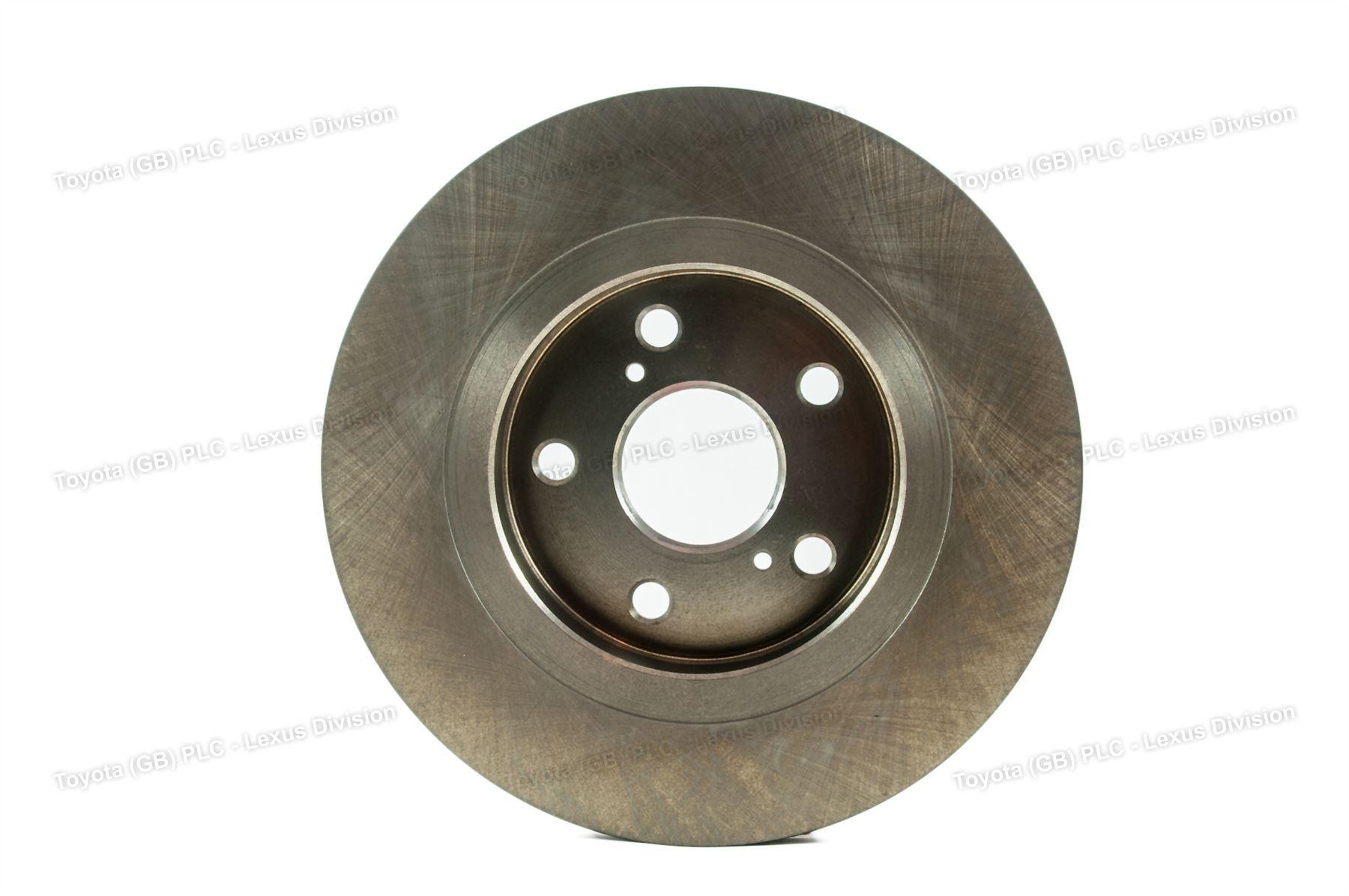 genuine toyota brake disc rear avensis 11 11 05 15 4243105070 ebay. Black Bedroom Furniture Sets. Home Design Ideas