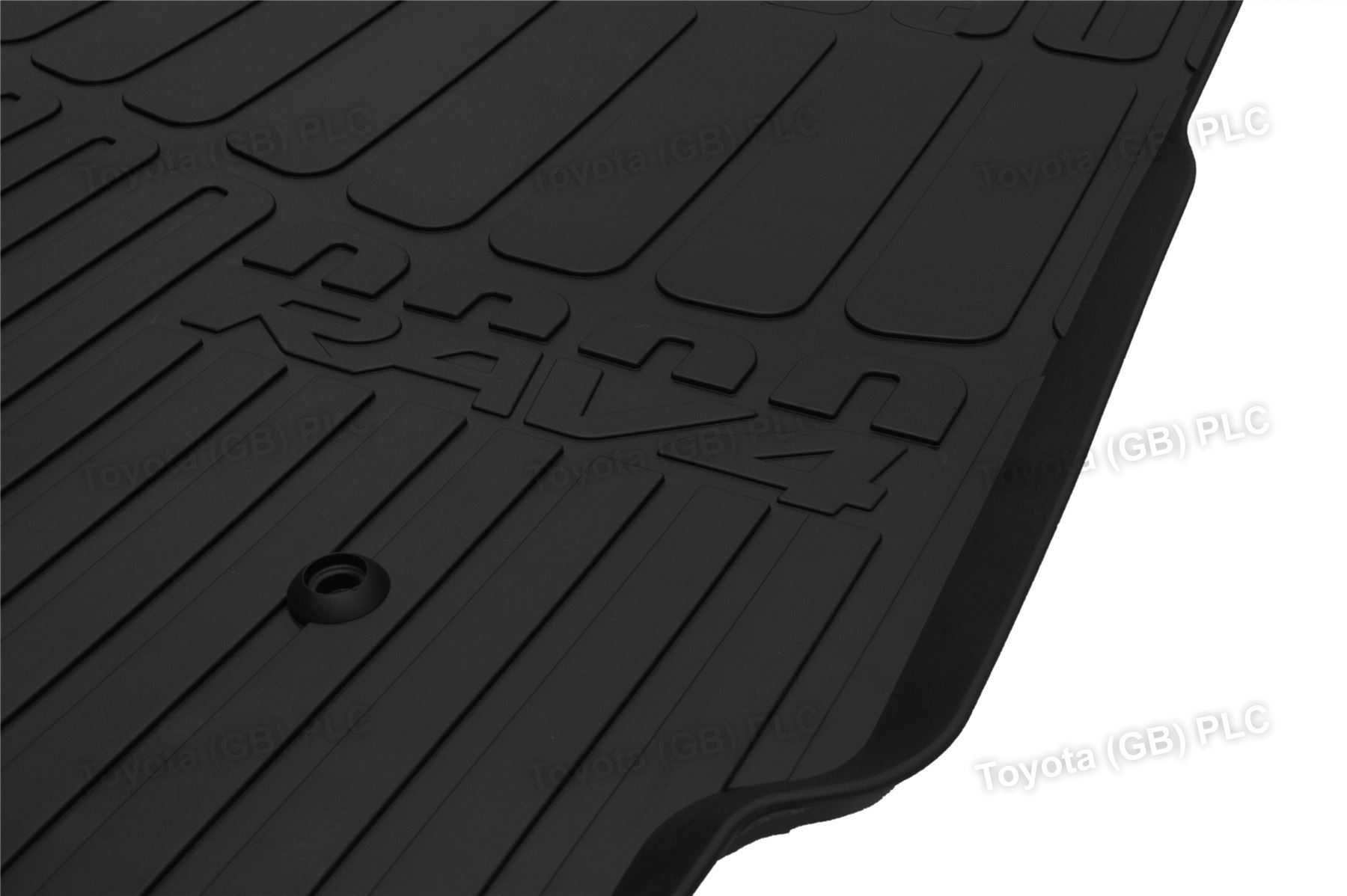 Genuine toyota 4x tailored car rubber floor mats rav4 11 for Original toyota floor mats