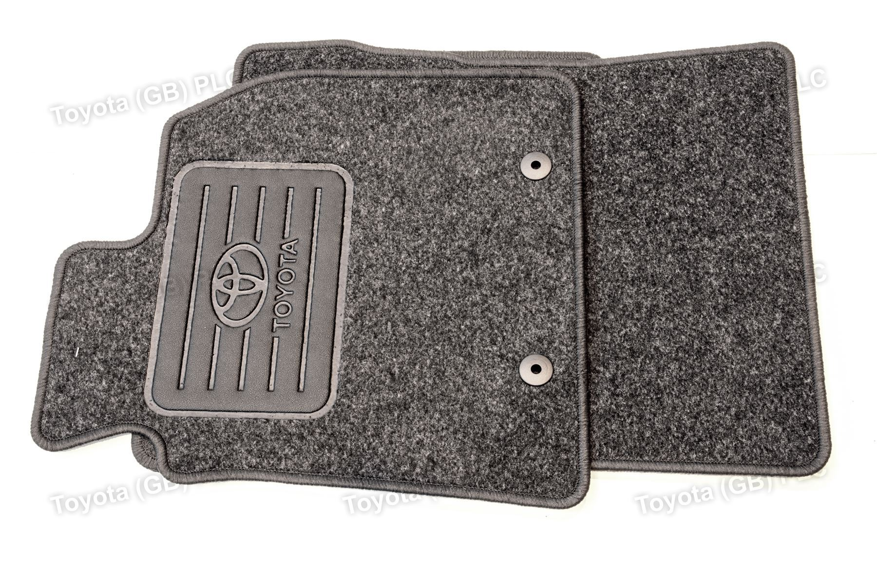 Genuine toyota 3x car textile floor mats avensis 11 08 for Original toyota floor mats
