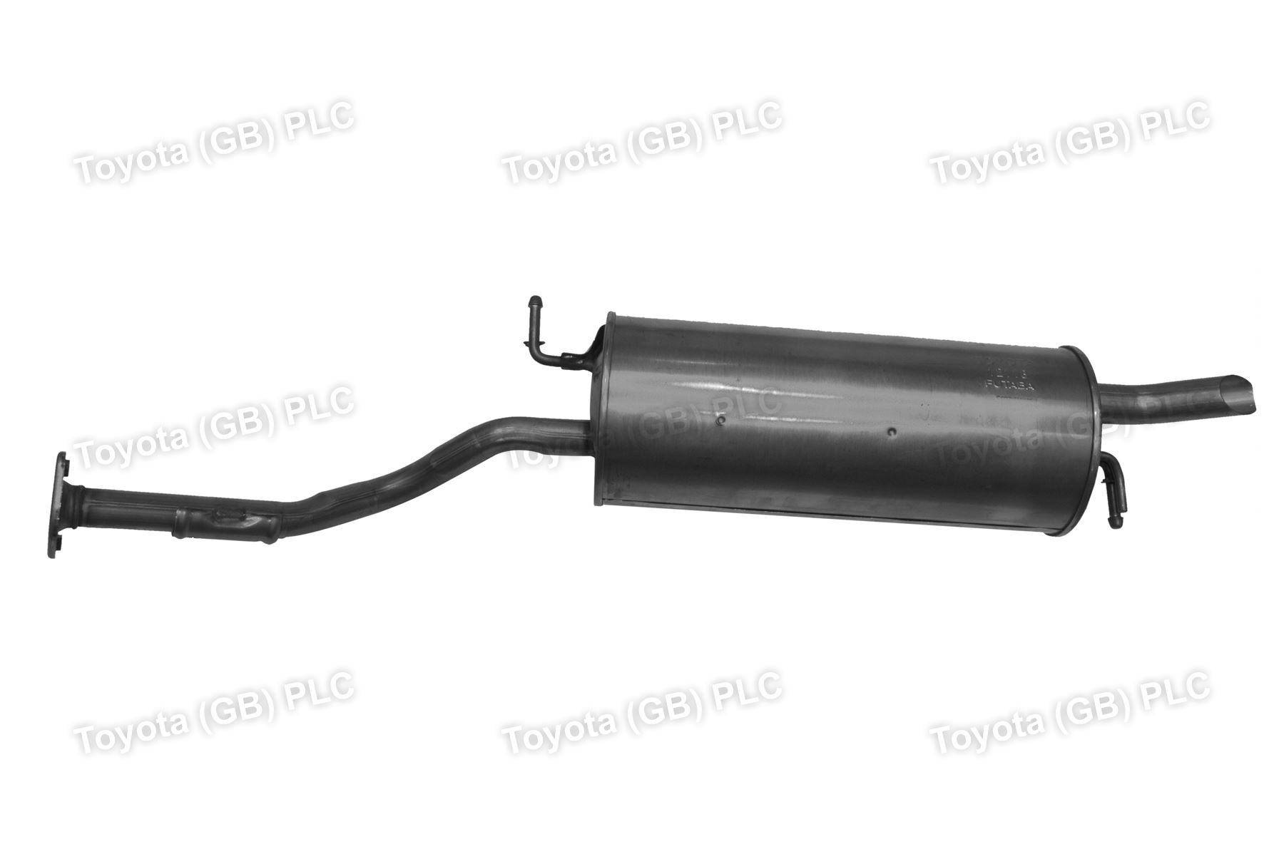 genuine toyota prius car replacement exhaust pipe