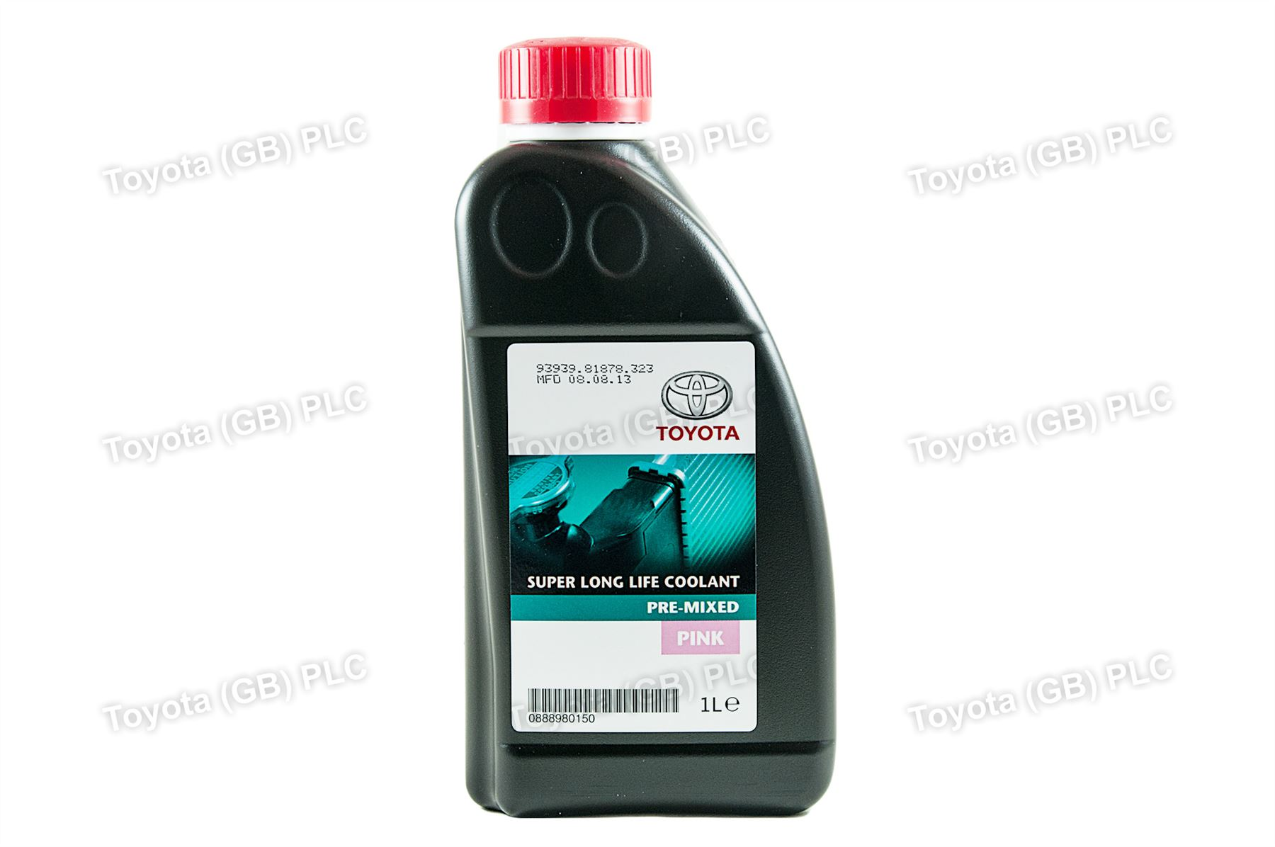 Genuine Toyota Super Long Life Coolant Pink 1 Litre Pre