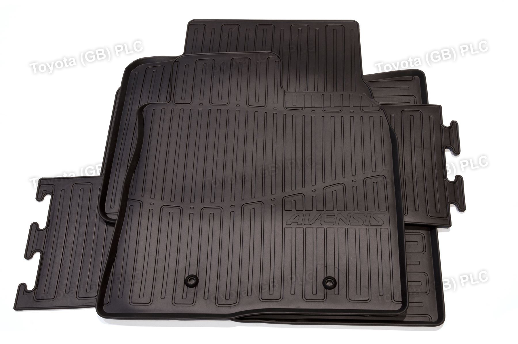 Genuine toyota 4x tailored car rubber floor mats avensis for Original toyota floor mats