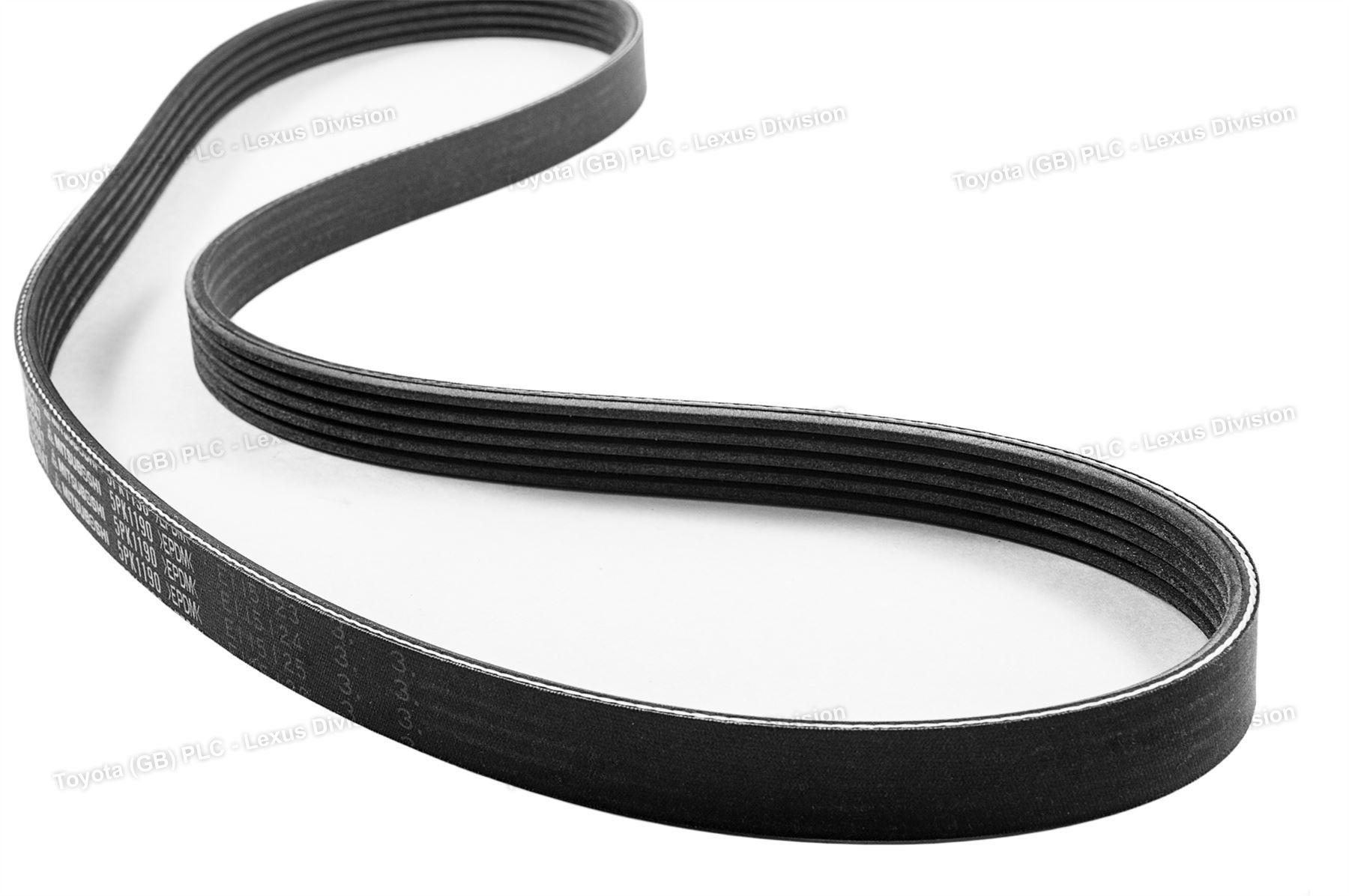 genuine toyota rav4 v belt serpentine belt and alternator