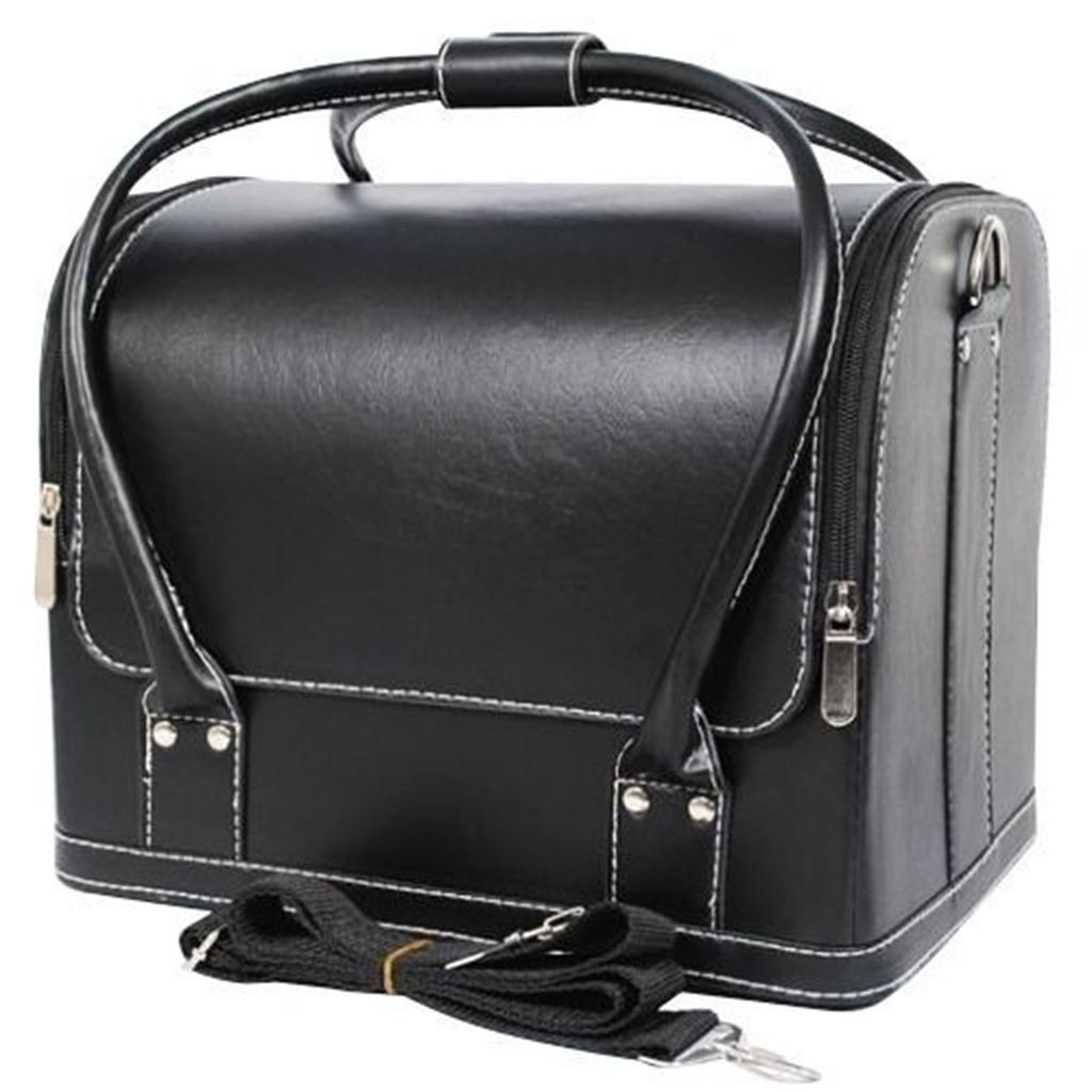 professional make up nail tech cosmetic box jewellery vanity saloon case bag ebay. Black Bedroom Furniture Sets. Home Design Ideas