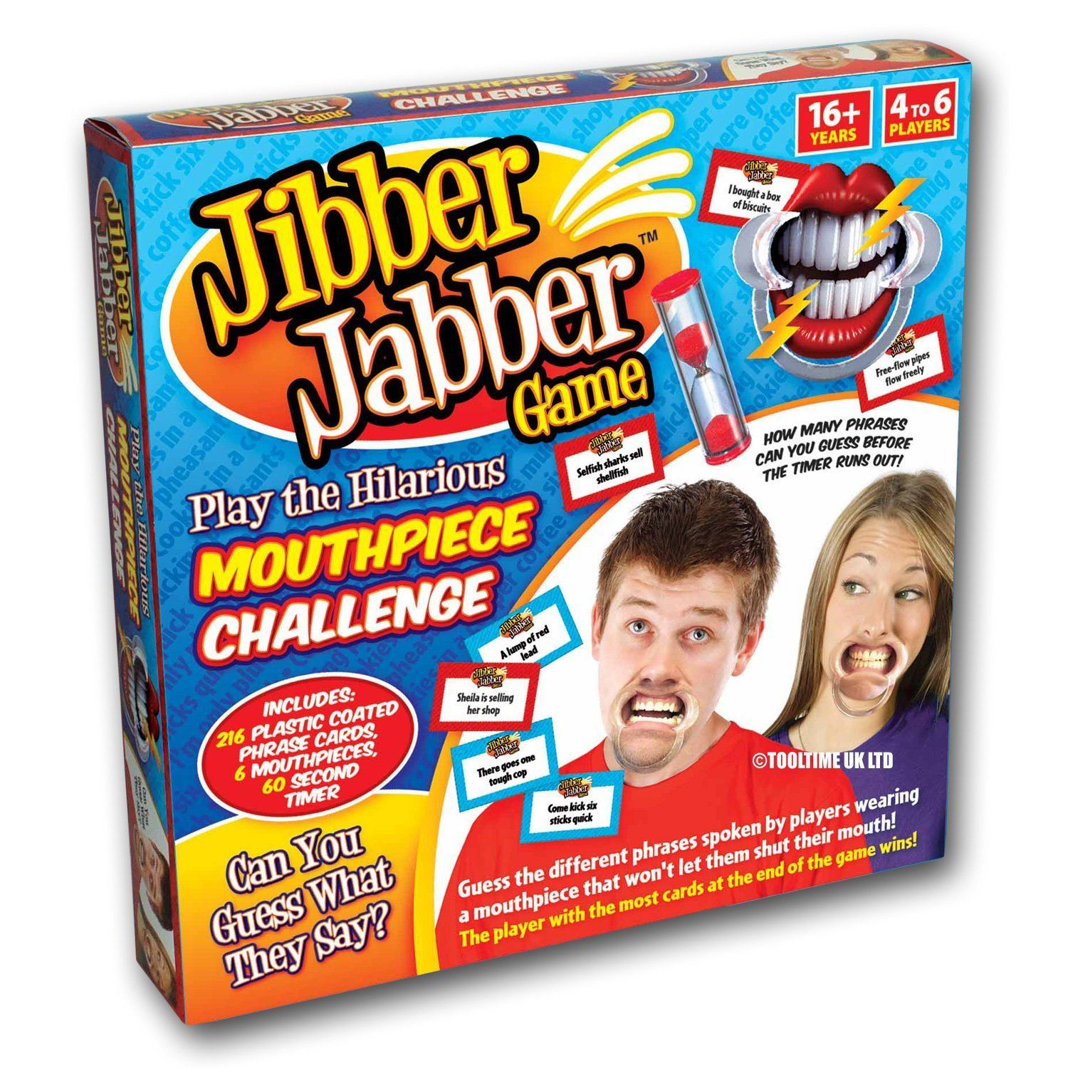 Jibber Jabber Party Game The Hilarious