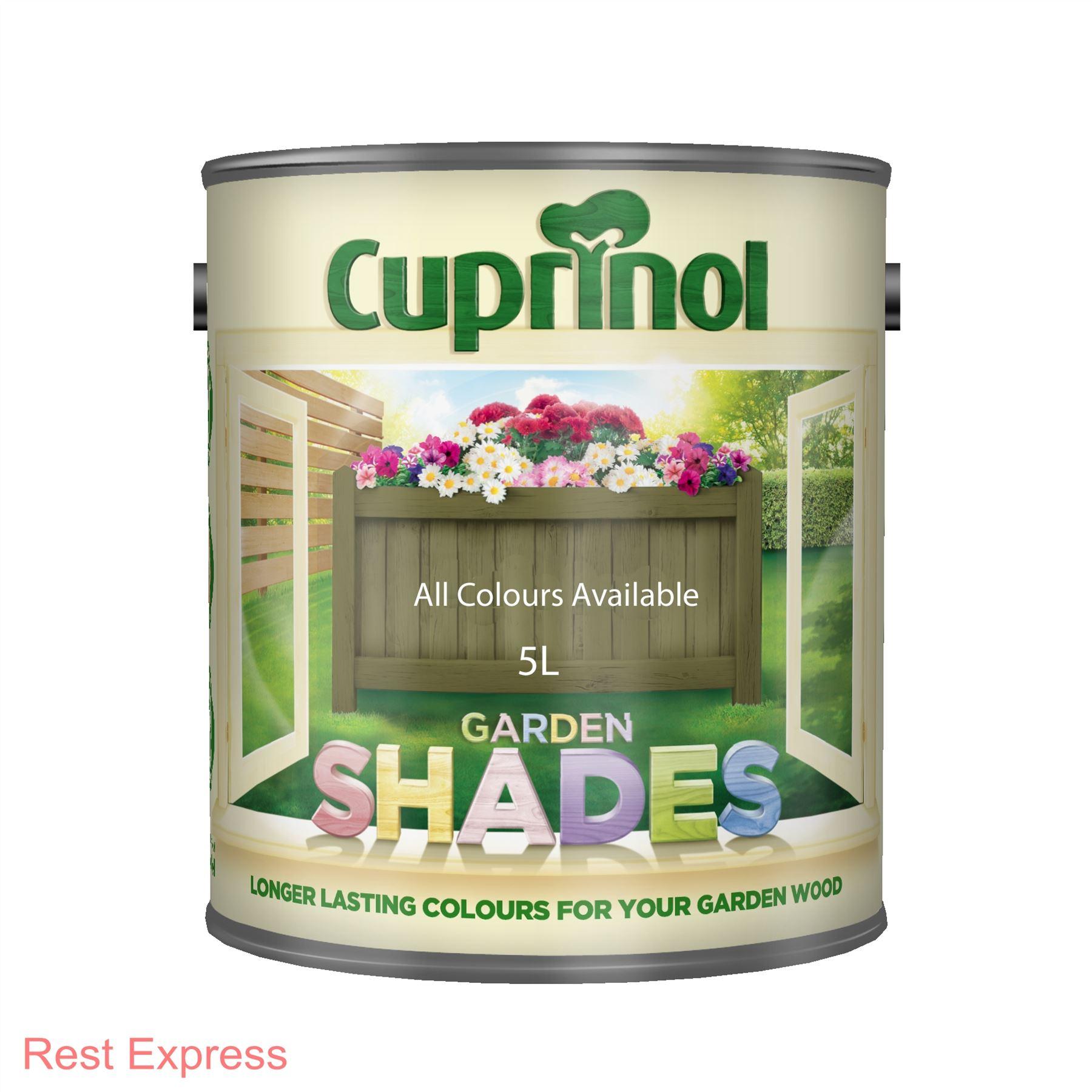 cuprinol garden shades wood shed fence paint stain 5. Black Bedroom Furniture Sets. Home Design Ideas