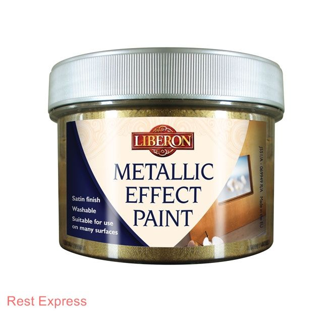 Liberon effet m tallis peinture 250ml ebay - Peinture effet metallise ...