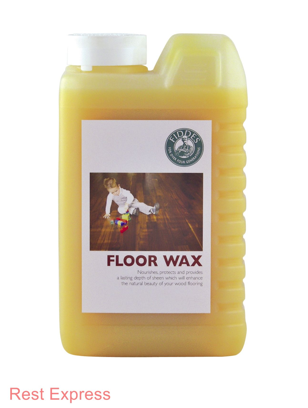 Fiddes liquid floor wax 1 litre or 2 litre wood floor for How long does floor wax take to dry
