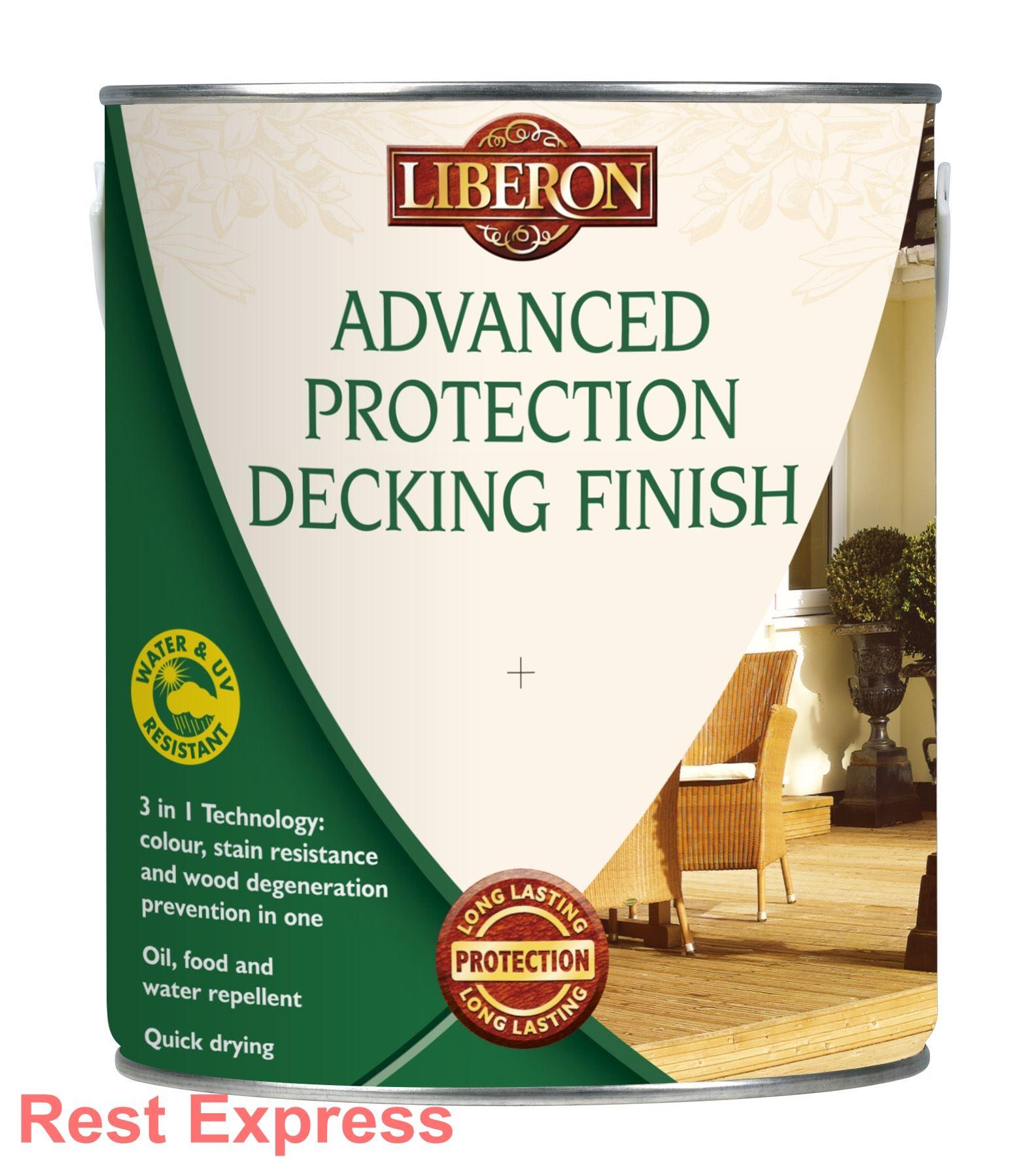 liberon aqua stop tough deck advanced protection decking. Black Bedroom Furniture Sets. Home Design Ideas