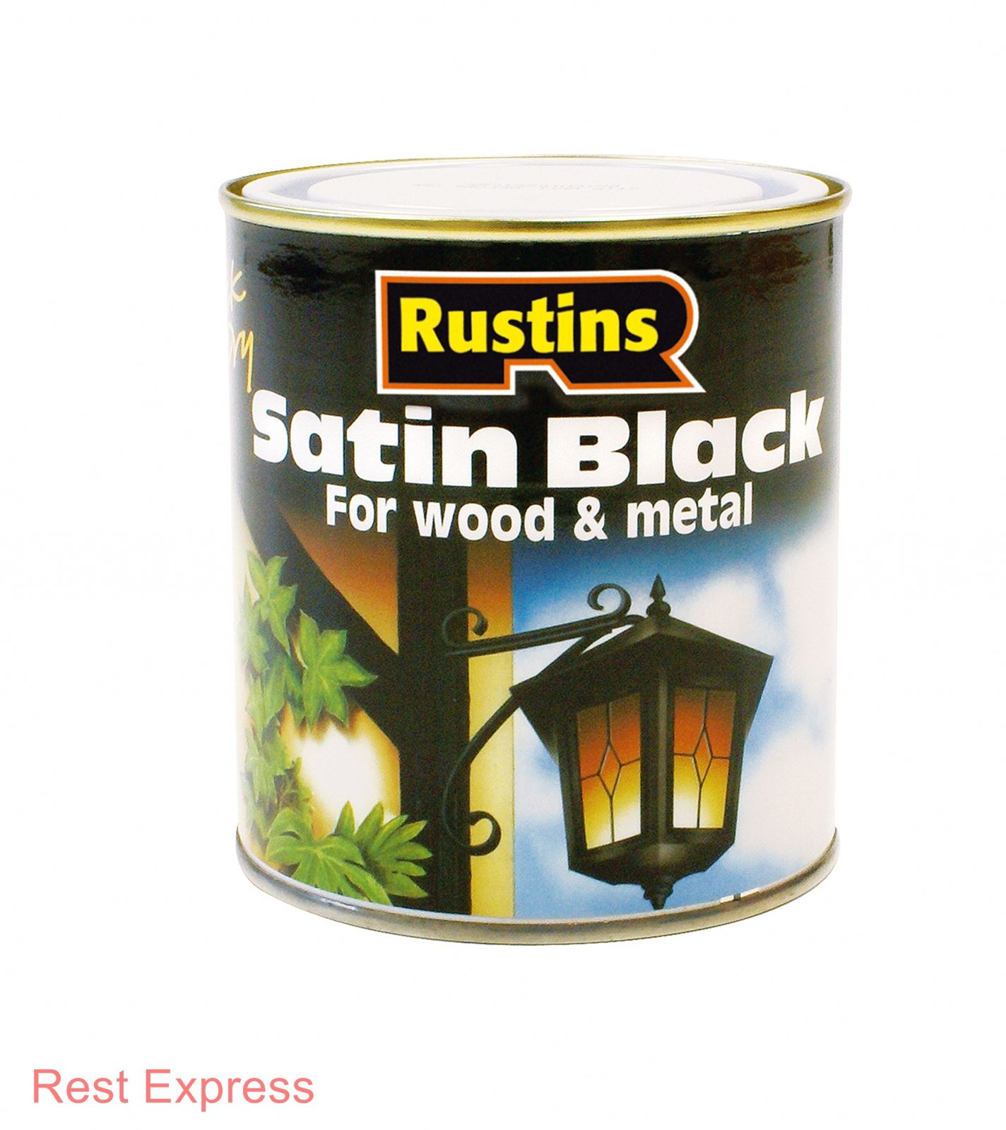 Rustins Black Paint 500ml Or 1 Litre Interior Exterior Matt Or Satin