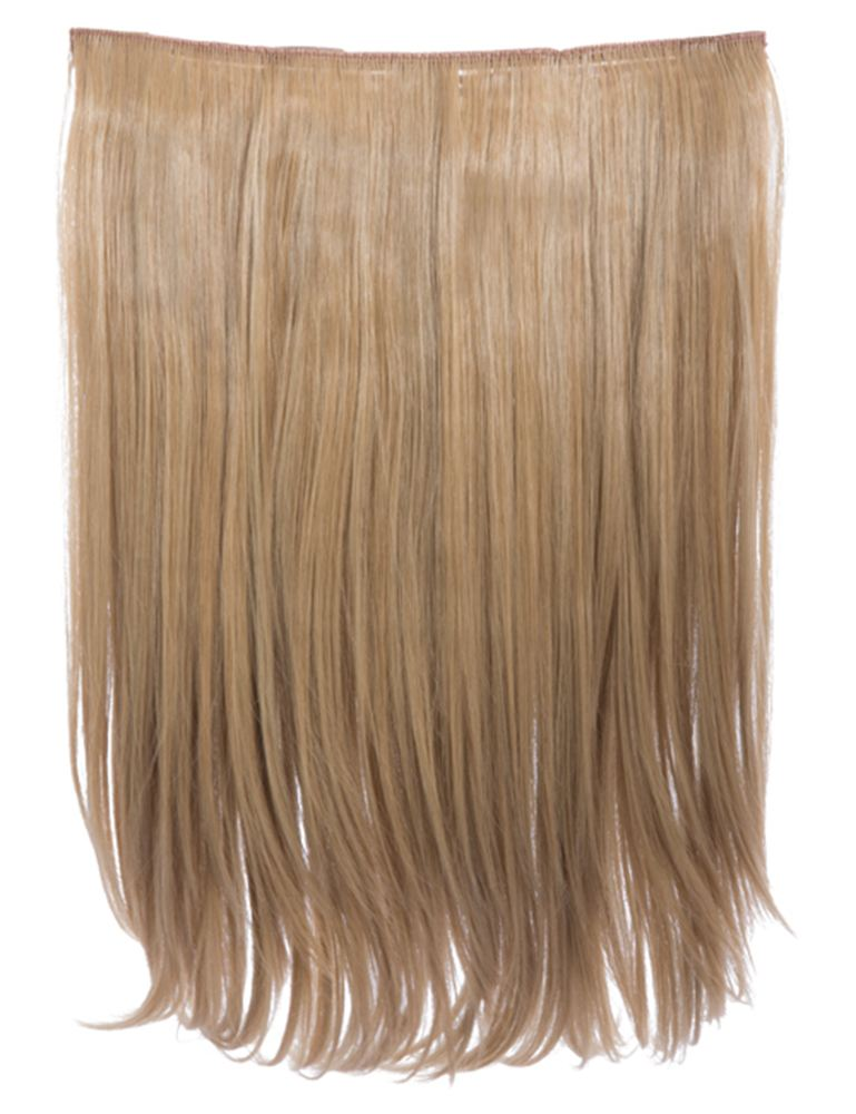 Koko Dolce 18 Long Straight Heat Resistant Hair Extensions Clip In
