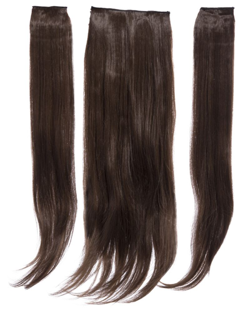 New 3 Piece Set Weft 24 Long Clip In Straight High Quality Hair
