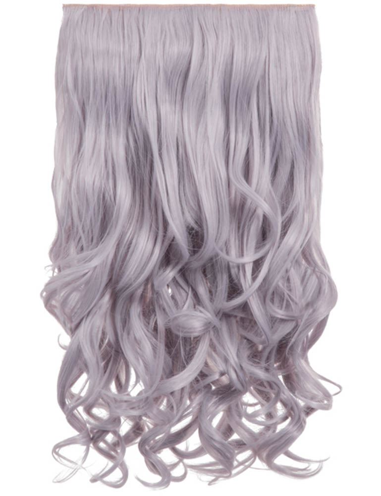 New Bright Colour Curly One Piece Clip In Hair Extensions Koko 20