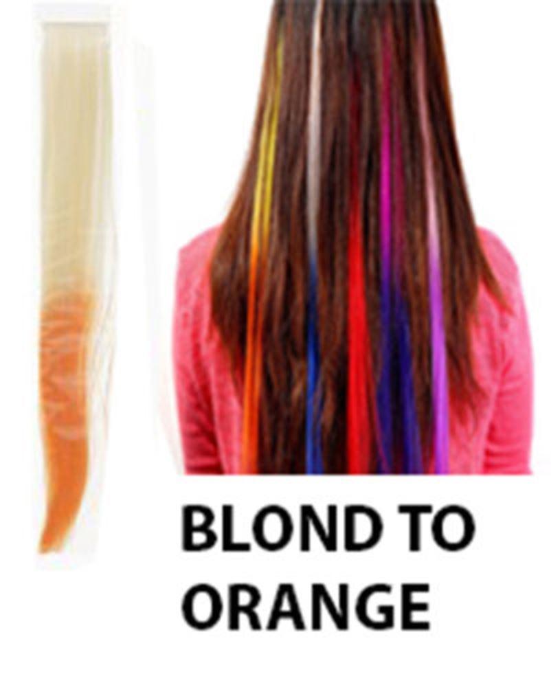 Dip Dye Clip In Extensions Uk 104