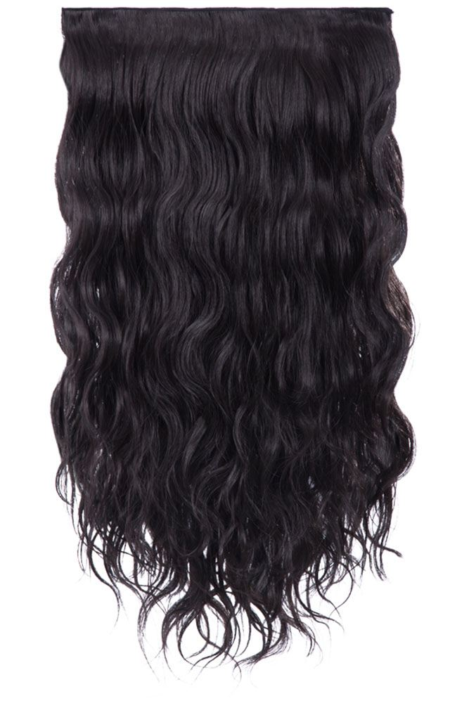 Ladies Wavy Curly 3 Piece Weft Set 20 Long Synthetic Hair