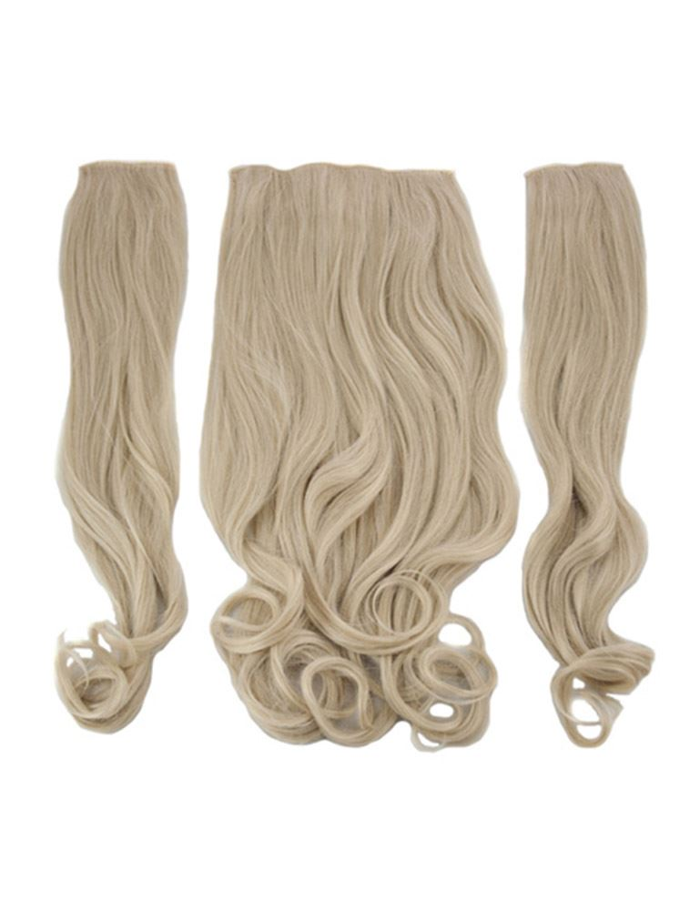New womens curly clip in 3 piece set weft 20 hair extensions koko new womens curly clip in 3 piece set pmusecretfo Choice Image