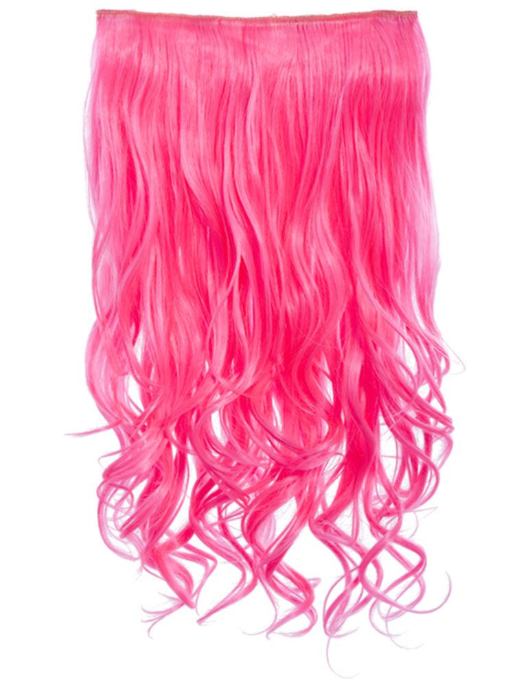 New Bright Colour Curly One Piece Clip In Hair Extensions Koko 20 9