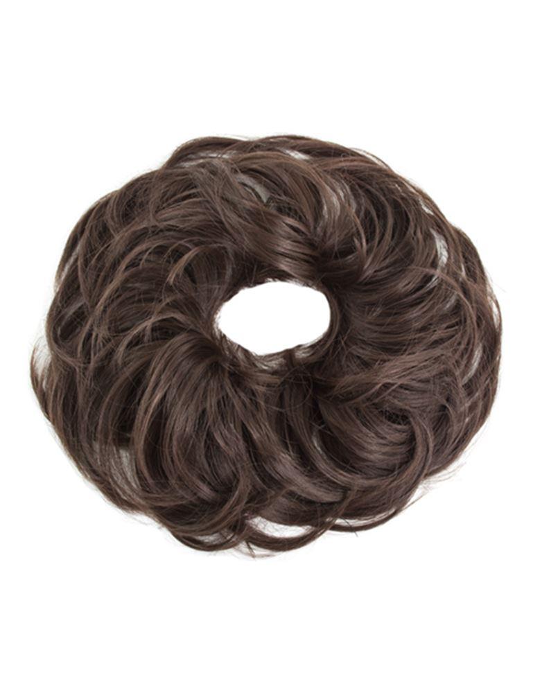 new wavy synthetic hair scrunchie elastic band hair