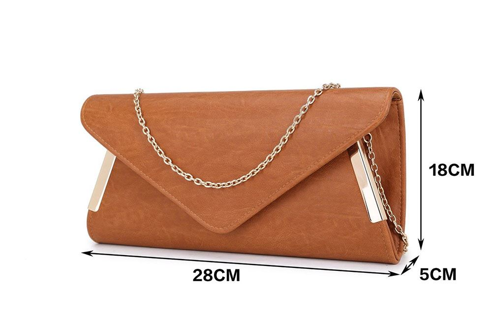 NEW LADIES ENVELOPE GOLD TRIM PARTY PROM BRIDAL EVENING CLUTCH HAND BAG