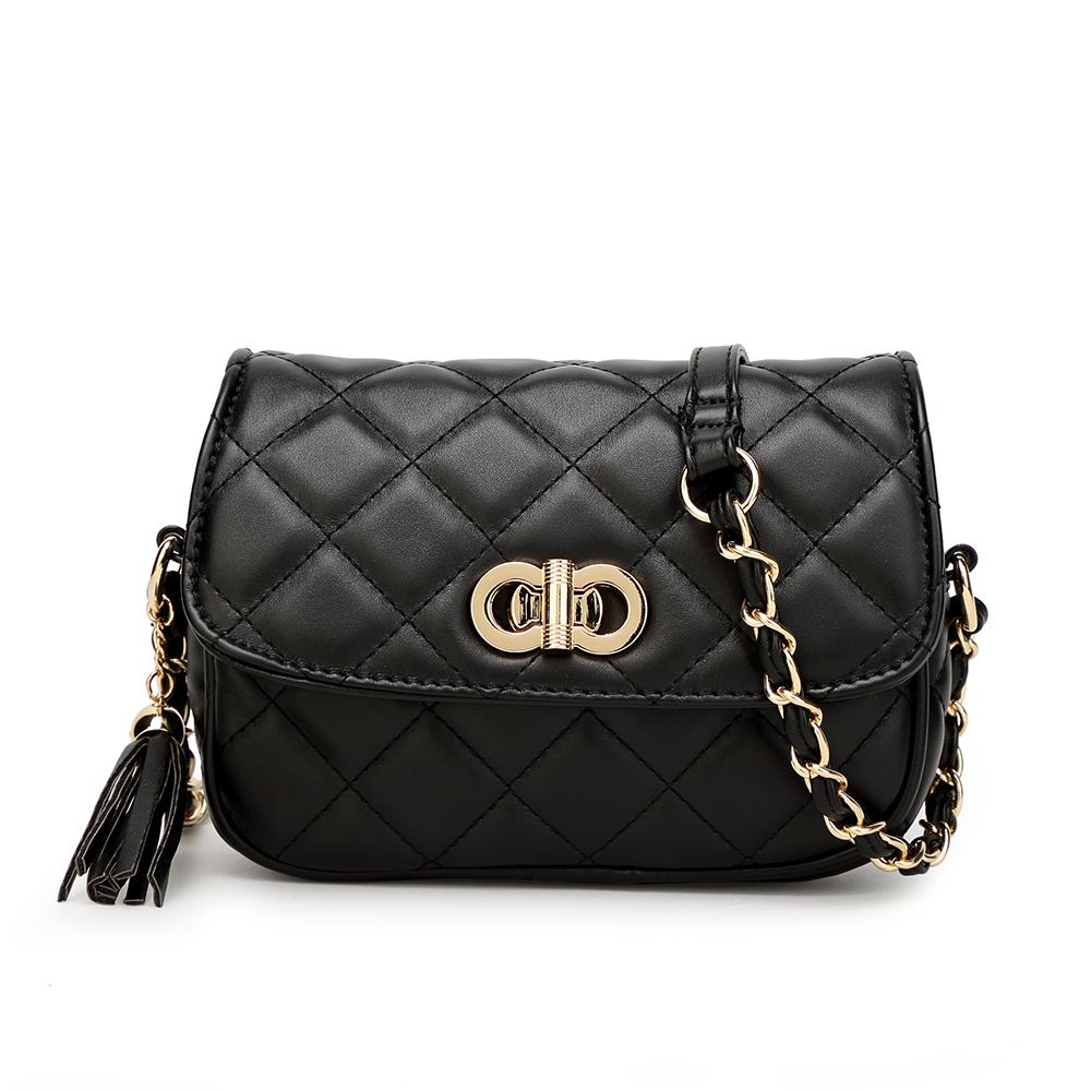NEW LADIES DESIGNER INSPIRED QUILTED FAUX LEATHER ...
