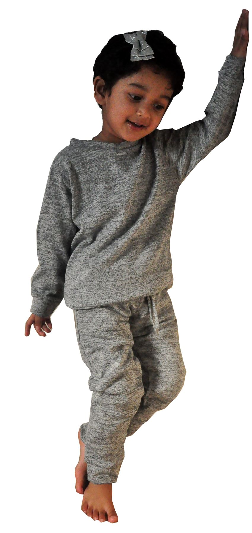 GIRLS KIDS LIGHT WEIGHT PLAIN TEXTURED DOUBLE POCKET LOUNGE TRACK SUIT 2-13 YEAR