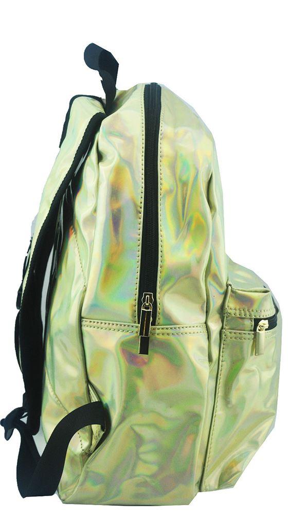 Filles femmes holographique célébrité partie de shinny sac à dos college school sac bandoulière