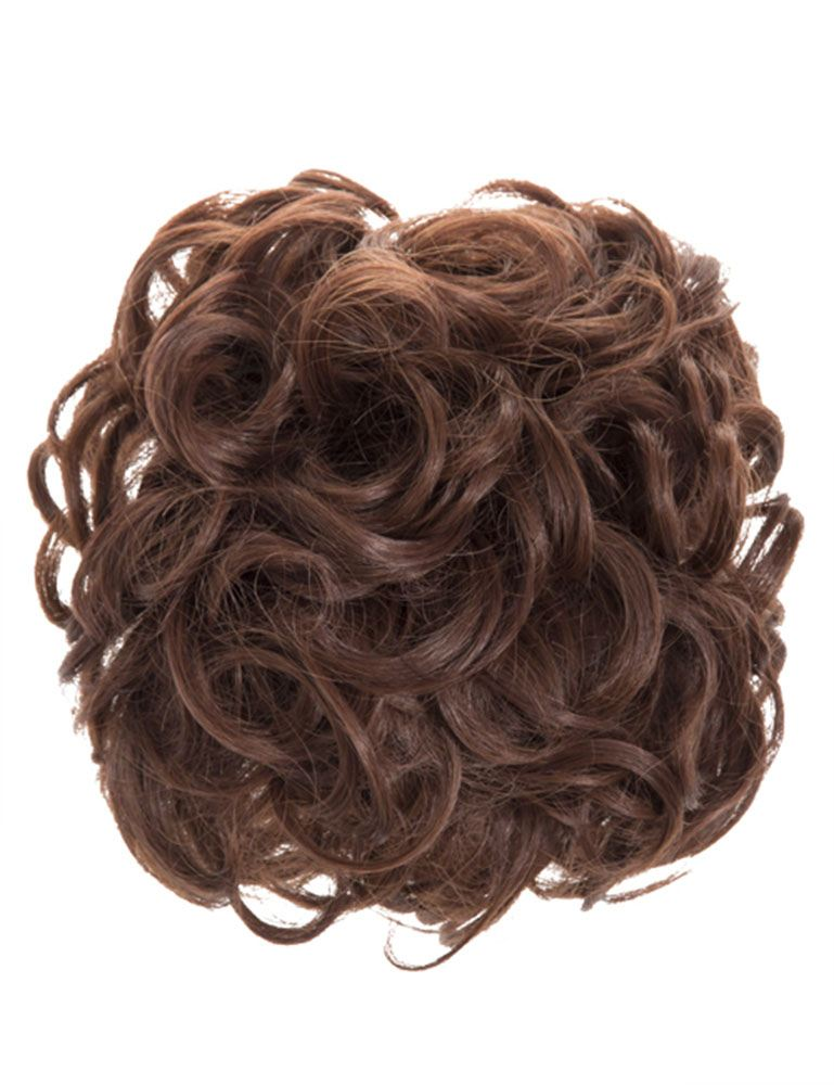 Womens Easy Updo Curly Hair Messy Bun Claw