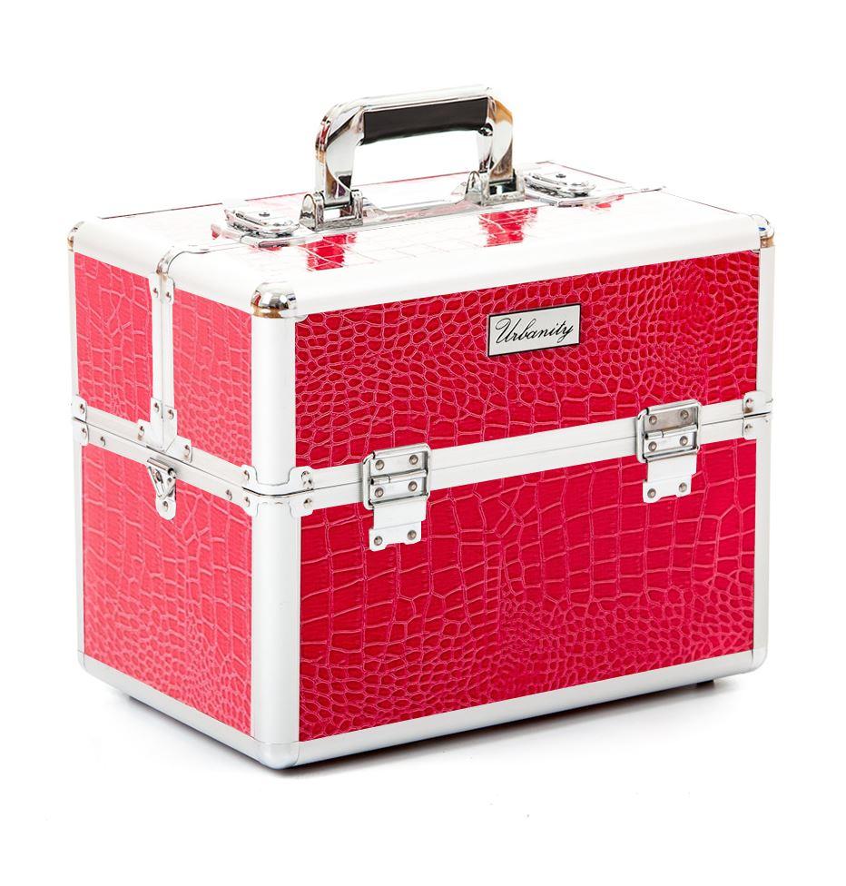 gro e beauty make up nagelstudio friseur kosmetik aufbewahrungsbox koffer bunt ebay. Black Bedroom Furniture Sets. Home Design Ideas