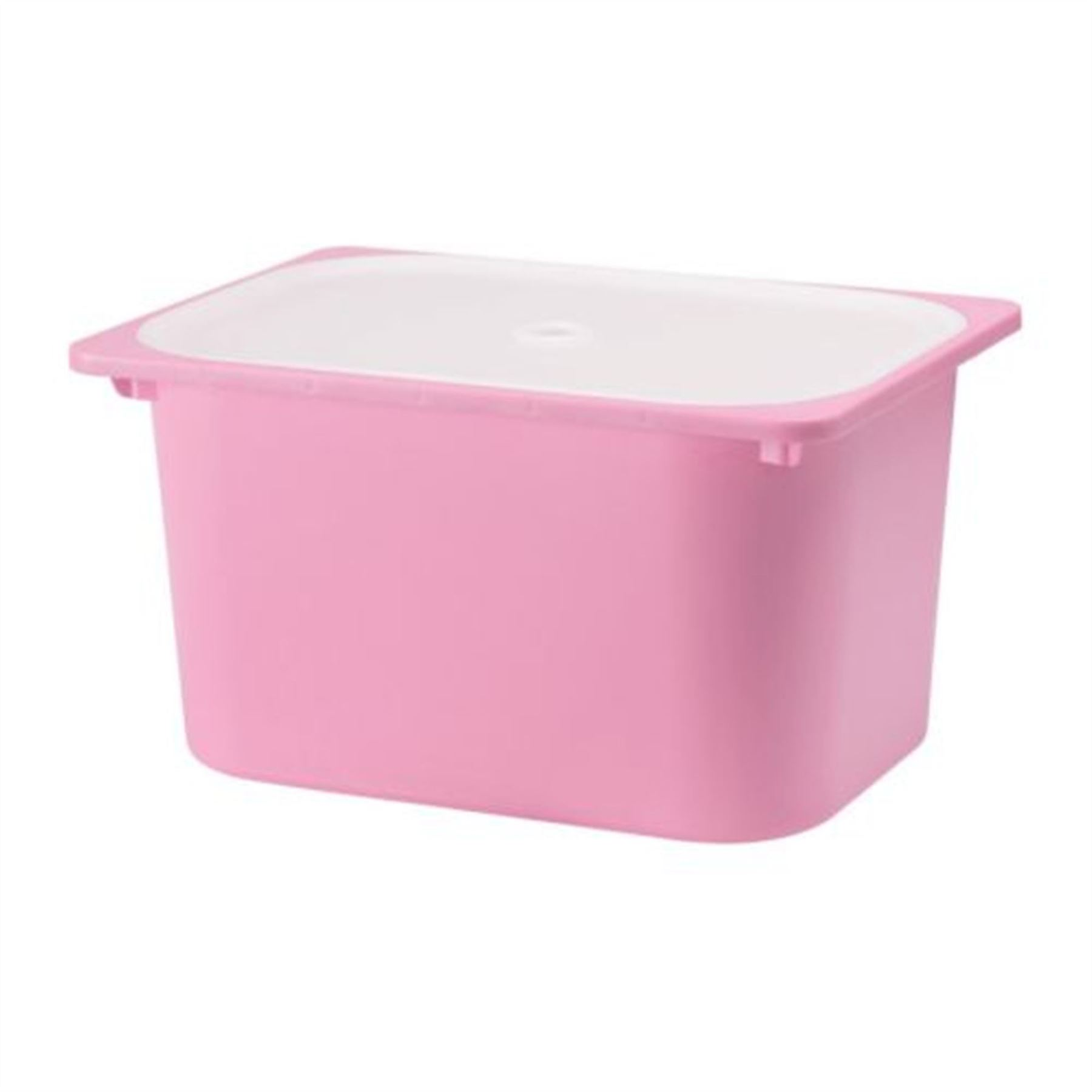 ikea trofast clothes shoes toys plastic storage box with lid assorted colours ebay. Black Bedroom Furniture Sets. Home Design Ideas