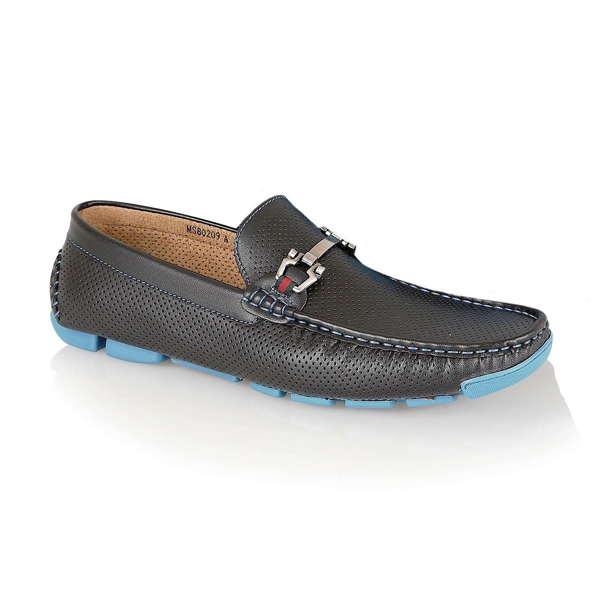 brit mens casual designer loafers moccasins slip on